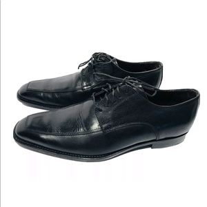 To Boot New York A. Derrick black Oxfords shoes 9M